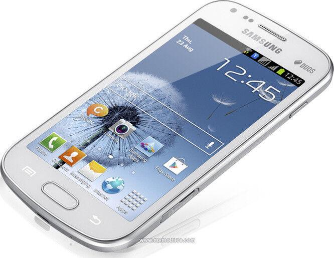 NEW Samsung Galaxy S7562 S Duos 4GB S7562 White Dual Sim Factory Unlocked