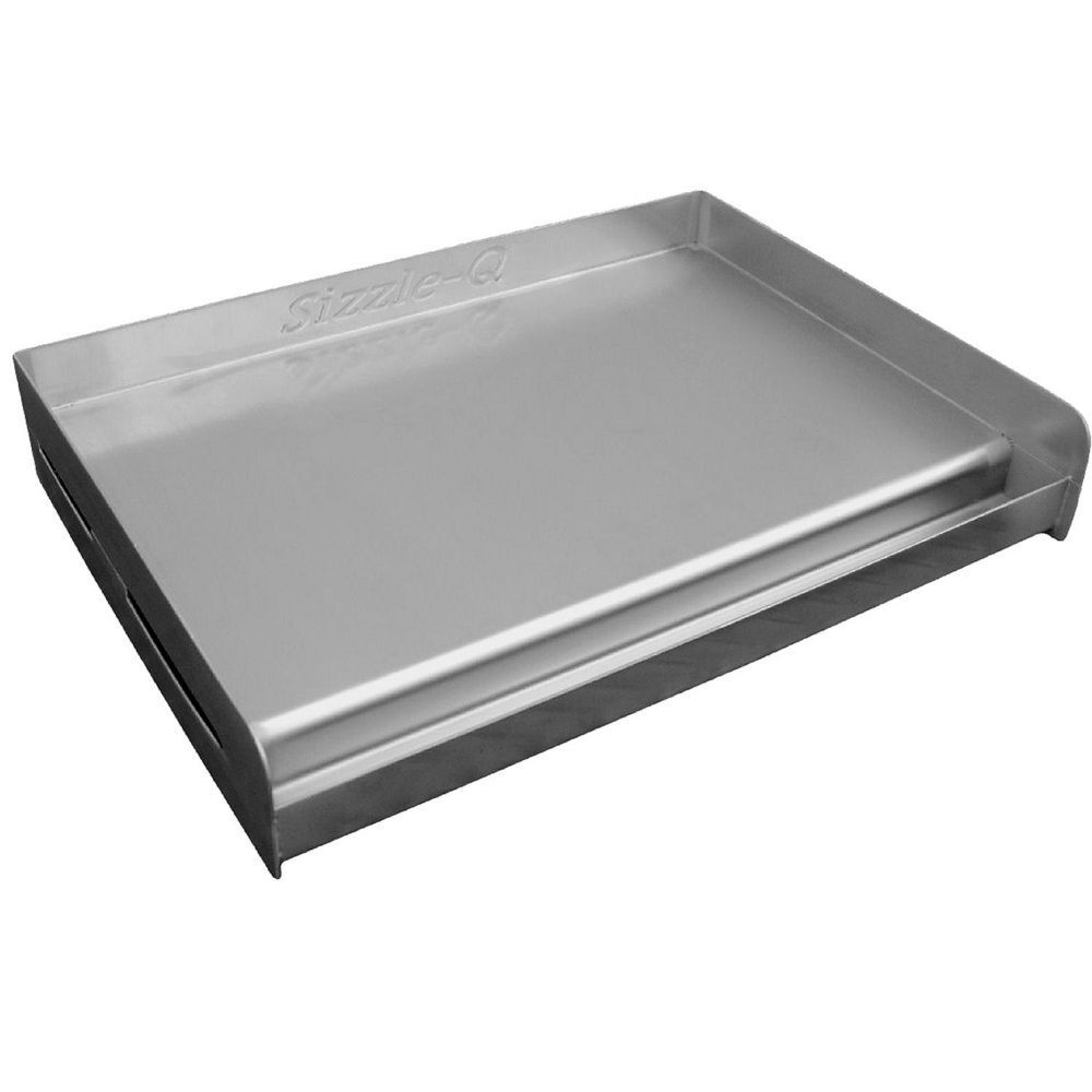 New sizzle q outdoor stainless steel griddle cook plate