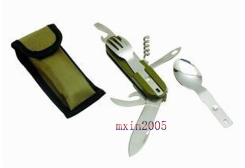 NEW Sporting Outdoor Army Style Camping Mult Tool Fork Spoon Knife Blade * in Specialty Services, Other Services | eBay
