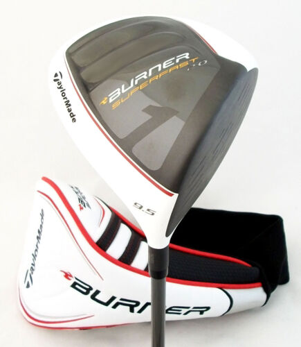 NEW TaylorMade Burner SuperFast 2.0 White 9.5° Driver ReAx 4.8 Stiff R: $199.99! in Sporting Goods, Golf, Clubs | eBay