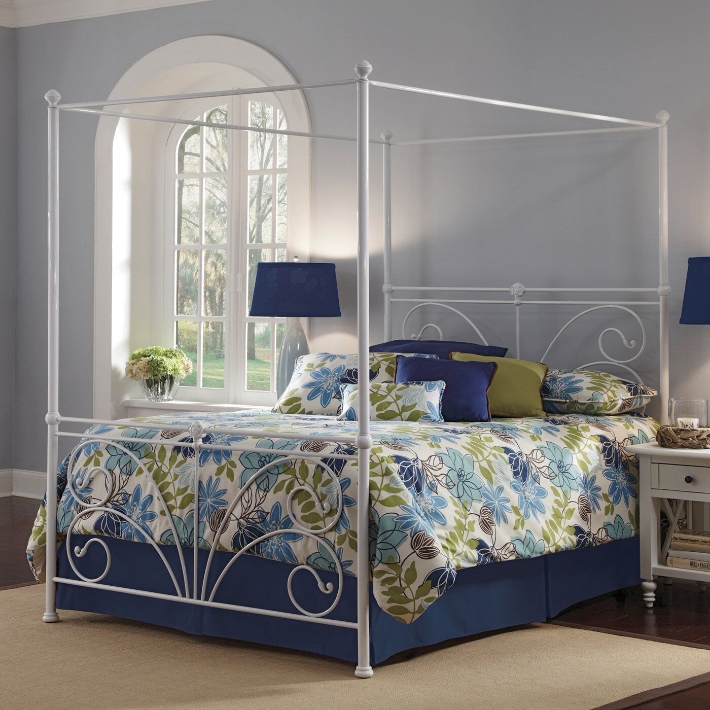 Full size canopy bed frame rainwear for Brass canopy bed frame
