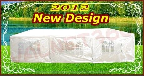 NEW WHITE 10 x 30 PARTY TENT GAZEBO CANOPY in Home & Garden, Yard, Garden & Outdoor Living, Patio & Garden Furniture | eBay