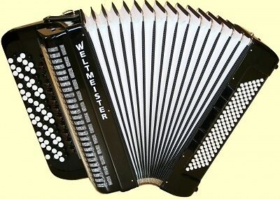NEW Weltmeister Romance 874 LMMH 120 Black in Musical Instruments & Gear, Accordion & Concertina | eBay