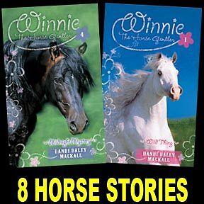 NEW Winnie the Horse Gentler Dandi Mackall Set of 8 Books Series 1 2 3 4 5 6 7 8 in Books, Children & Young Adults | eBay