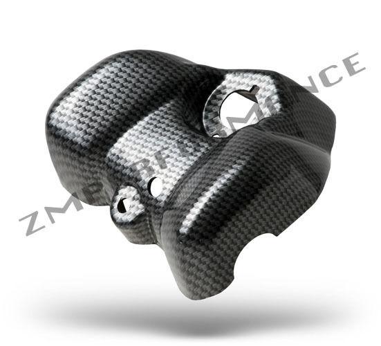 New Yamaha Raptor 700 Black Carbon Fiber Plastic Dash Cover Switch Holder