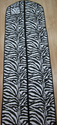 NEW ZEBRA PRINT PROM DRESS WEDDING DRESS BAG STORAGE TRAVEL GARMENT BAG in Travel, Luggage | eBay