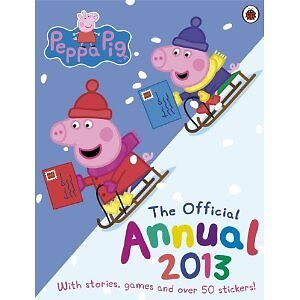 NEW-peppa-pig-2013-annual-hardback-puzzle-story-quiz-activity-comic-book