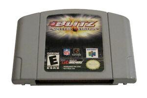 NFL Blitz Special Edition Rental Release Nintendo 64, 2001 | eBay