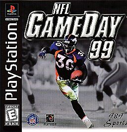 NFL GameDay 99 (Sony PlayStation 1, 1998...