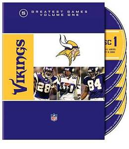 NFL Minnesota Vikings 5 Greatest Games (...