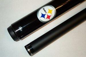 NFL Pittsburgh STEELERS Pool Cue Stick & Case FREE SHIP in Sporting Goods, Indoor Games, Billiards | eBay