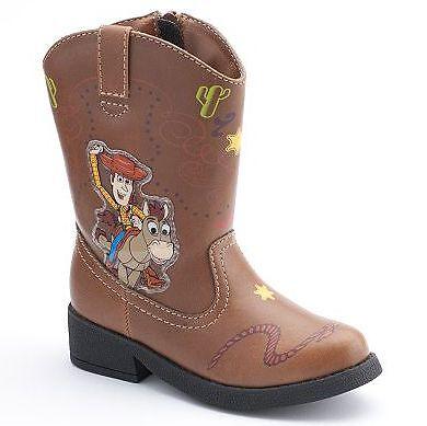 NIB Disney/Pixar Toy Story Woody Light-Up Cowboy Boots - Toddler Boys ...