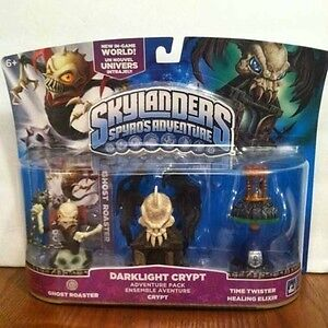 NIB SKYLANDERS SPYRO'S DARKLIGHT CRYPT ADVENTURE PACK W/ GHOST ROASTER in Toys & Hobbies, Action Figures, TV, Movie & Video Games | eBay