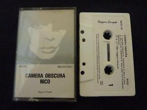 NICO-CAMERA-OBSCURA-ULTRA-RARE-NEW-ZEALAND-CASSETTE-TAPE