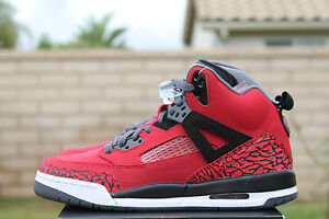 NIKE-AIR-JORDAN-SPIZIKE-GS-SZ-7-Y-TORO-BRAVO-GYM-RED-BLACK-GREY-WHITE-317321