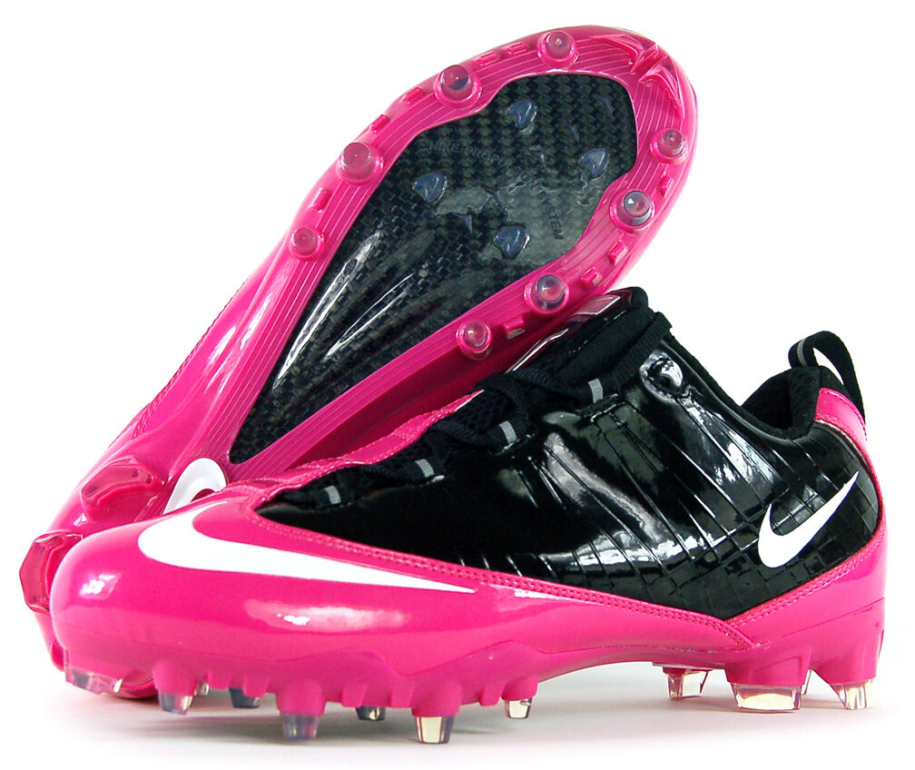 nike air zoom vapor carbon fly td football think pink