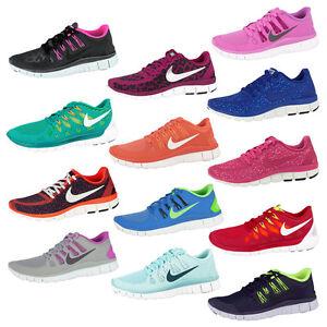 Nike Free 5.0 Damen Schwarz Rot