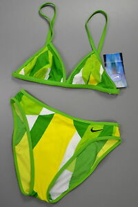 NIKE-Green-Gruen-Swimwear-Damen-Bikini-Gr-38-NEU