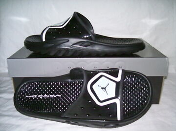 c553188ec9099b NIKE JORDAN CAMP SLIDE 3 sandal flip flop slide men size 8 black on ...