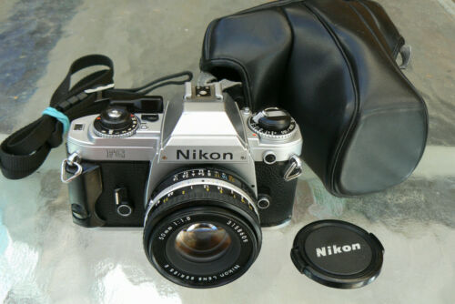 NIKON FG CAMERA & NIKON 50MM F1.8 LENS with NEW DOOR SEAL *35MM SLR CAMERA in Cameras & Photo, Film Photography, Film Cameras | eBay
