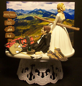 Hiking Cake Topper Uk