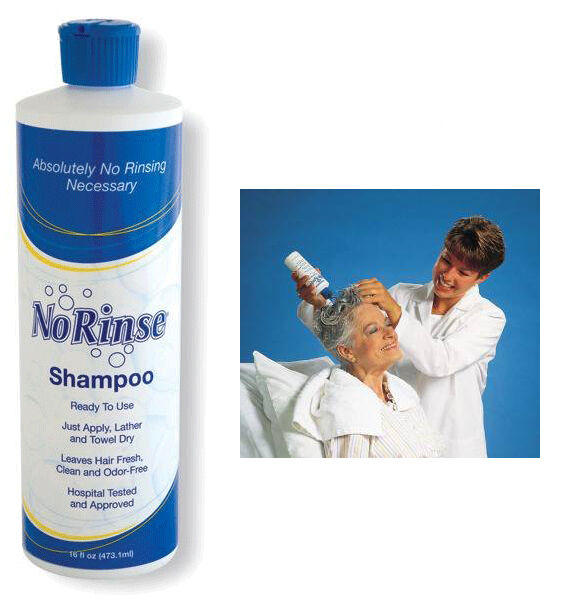NO-RINSE HAIR SHAMPOO NO WATER NEEDED WATERLESS GREAT FOR ...