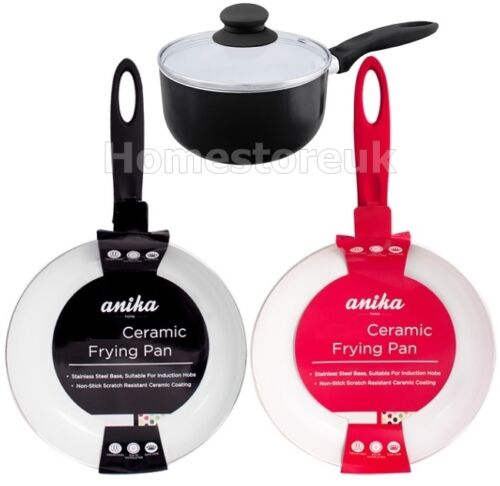 non stick ceramic coating induction gas hob fry pan pot. Black Bedroom Furniture Sets. Home Design Ideas