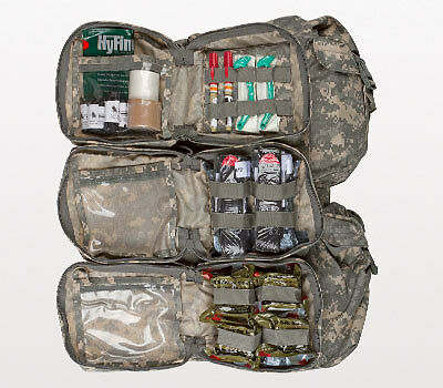 North American Rescue Narp Walk Combat Casualty Warrior Aid Litter Response Kit