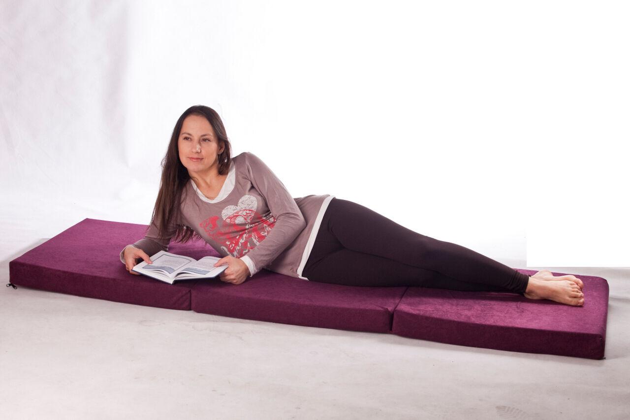 notbett g stebett schlafsessel klappmatratze faltmatratze mit tasche 180 x 80 cm. Black Bedroom Furniture Sets. Home Design Ideas