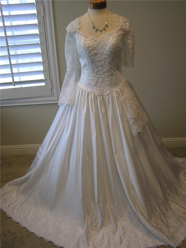 Nwot p c marys 4968 wedding dress bridal gown quinceanera for Pc mary s wedding dress