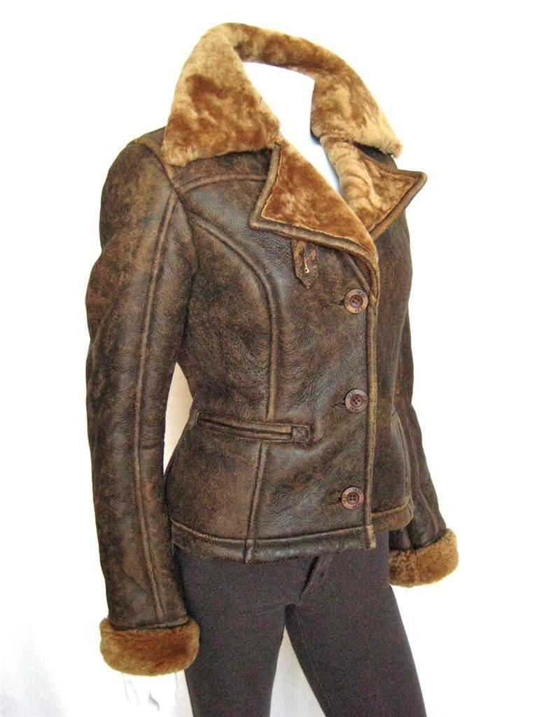 ugg ladies leather jacket