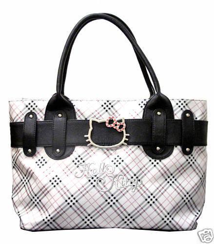 960426625 NWT Hello Kitty tote bag handbag purse on PopScreen
