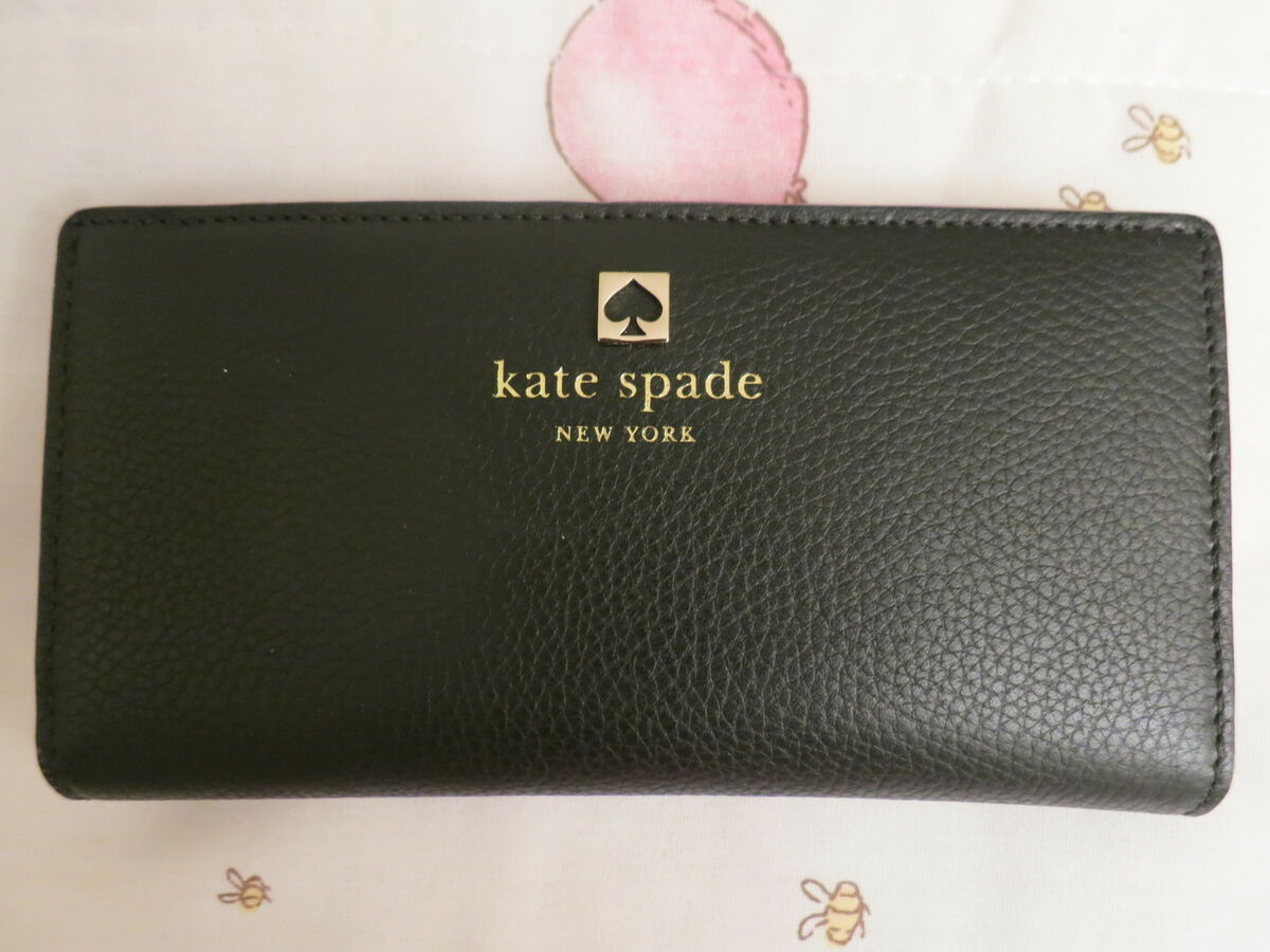 Kate Spade Grant Park Stacy Wallet Black