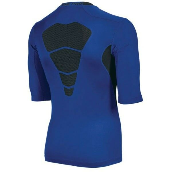 98fa64bc43a3 Mens Nike Pro Combat Hypercool Compression 1 2 Sleeve Shirt M Football