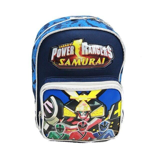 Power Rangers Samurai Mini Backpack 10 for Toddler 100 Authentic