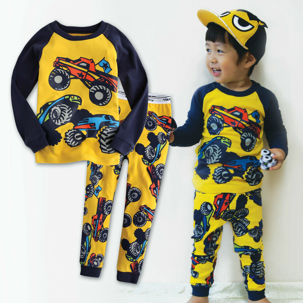 "Vaenait Baby Toddler Kid Unisex Long Sleeves Pyjama Set "" 2012 Hummer """