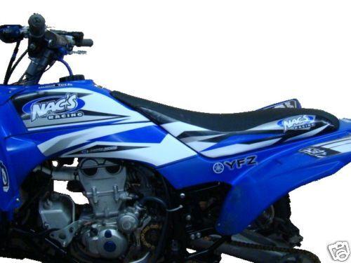 Nacs Racing atv graphics kit YFZ450 yfz blue/wh nacs