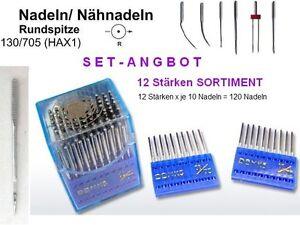 Nadeln-130-705-H-12-STARKEN-SORTIMENT-SET-mit-120-Naehnadeln