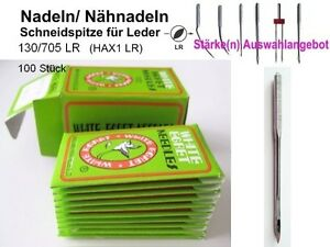 Nadeln-130-705-LR-Staerken-AUSWAHL-100-LEDER-NAHNADELN