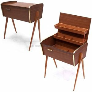 n htisch retro konsole m bel 50er 60er jahre mid century. Black Bedroom Furniture Sets. Home Design Ideas