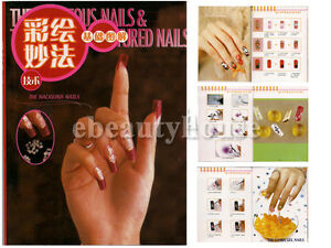 Nail Art Design Color Step by Step Technique Guide Book 006 | eBay