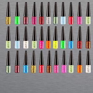 Nail-Art-Liner-Nagellack-7ml-Fineliner-mix-Farben-Schmuck-Glitter