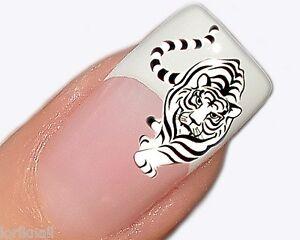 nailart wasser tattoo aufkleber f r fingern gel design. Black Bedroom Furniture Sets. Home Design Ideas
