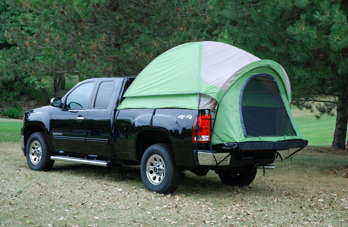 Napier Backroadz Full Crew Cab Truck Bed Tent Ford Chevy Dodge 2 Person Camping