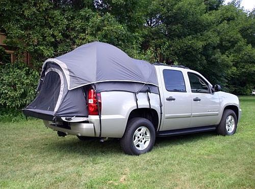 Napier Sportz Chevy Avalanche Pickup Truck Bed 2 Person Man Vehicle Camp Tent