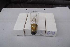 Narva-Gluehbirne-Birnenlampe-5-X-25-W-220-230-V-klar-Birnenform