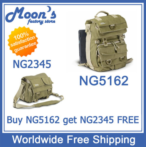 National Geographic NG Earth Explorer NG 5162 2345 Rucksack Camera Bag Backpack in Cameras & Photo, Camera & Photo Accessories, Cases, Bags & Covers | eBay