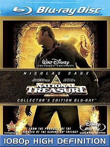 National Treasure (Blu-ray Disc, 2008, C...