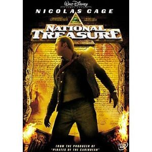 National Treasure (DVD, 2005, Widescreen...