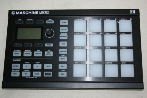Native Instruments Maschine Mikro Mk2 Groove Production Studio / Sampler - BLK in Musical Instruments & Gear, Electronic Instruments, Drum Machines | eBay